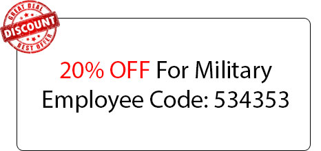 Military Employee Coupon - Locksmith at Carmichael, CA - 24 Hour Locksmith Carmichael